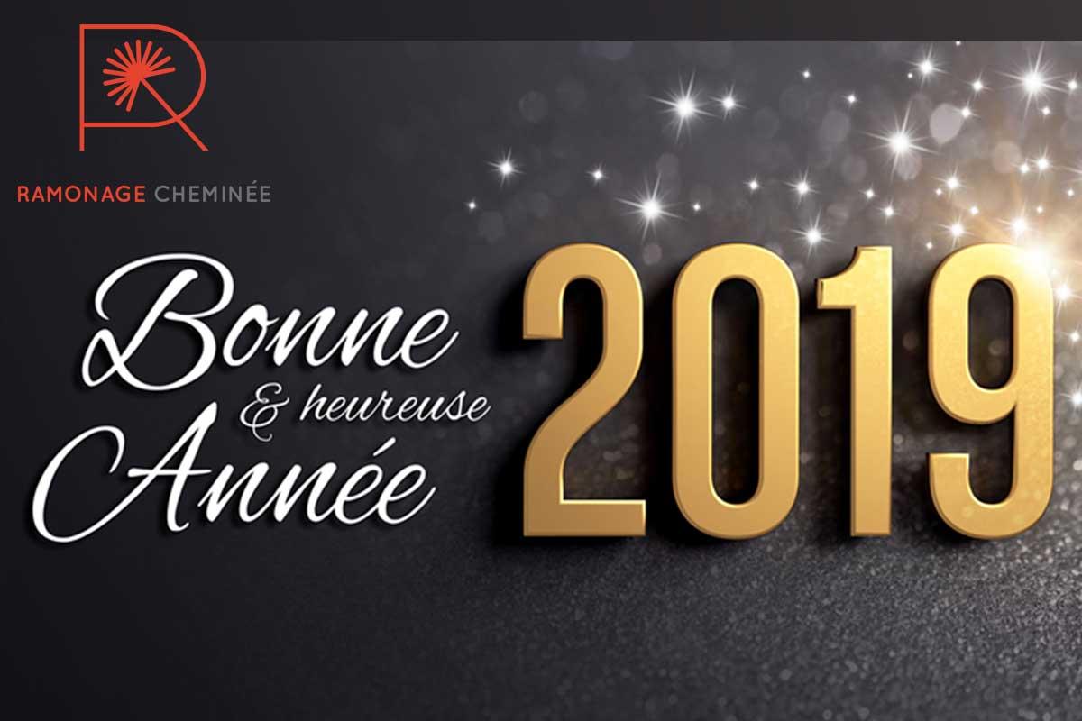 Meilleurs vœux pour la nouvelle année 2019 !